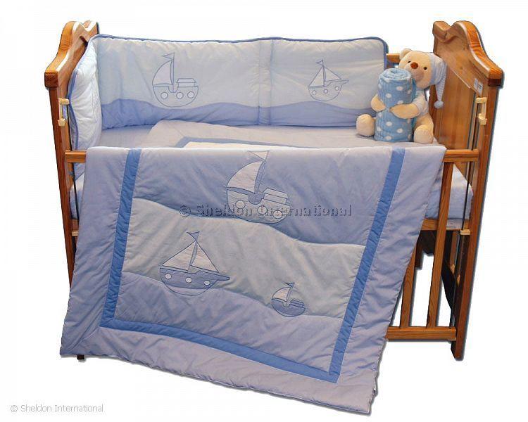 babybett decke und nestchen set boot gro handel. Black Bedroom Furniture Sets. Home Design Ideas