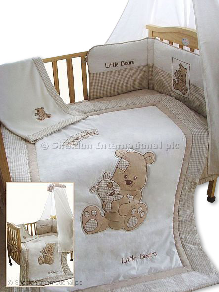 5 teiliges baby bettw sche set beste freunde gro handel. Black Bedroom Furniture Sets. Home Design Ideas